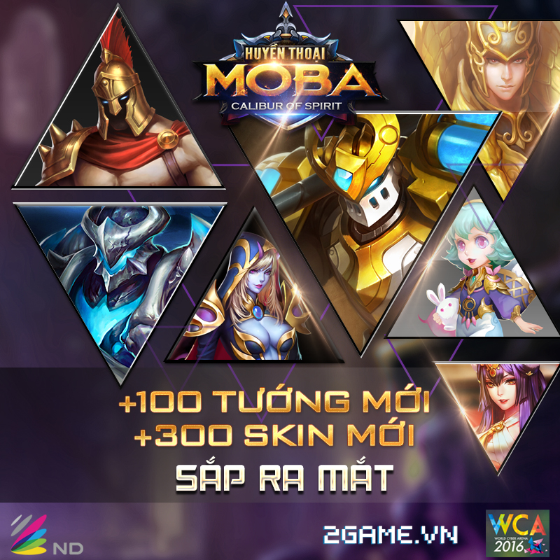 Huyền Thoại MOBA là tên gọi chính thức của game Calibur Of Spirit tại Việt Nam 1