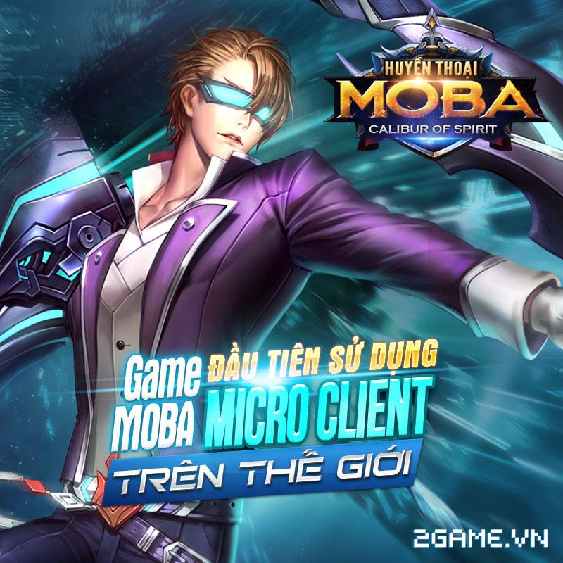 Huyền Thoại MOBA là tên gọi chính thức của game Calibur Of Spirit tại Việt Nam 0