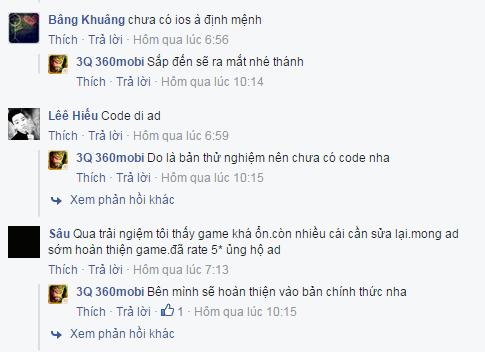 Game thủ Việt nói gì về MOBA 3Q 360Mobi sau gần 1 tuần thử nghiệm? 1