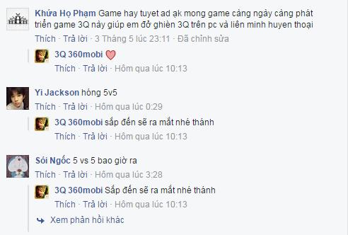 Game thủ Việt nói gì về MOBA 3Q 360Mobi sau gần 1 tuần thử nghiệm? 2
