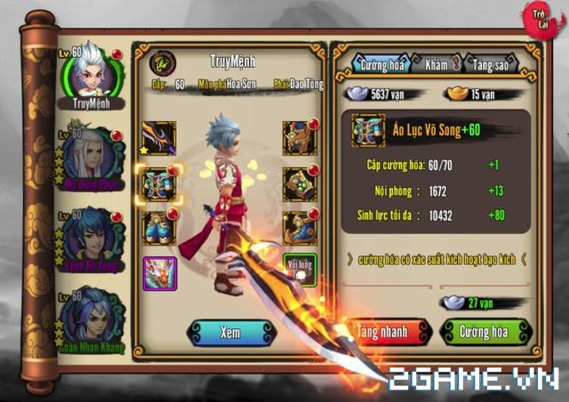 Chơi thử Kiếm Khách Truyện - Kỳ phùng địch thủ của Cửu Âm Chân Kinh Mobile 1