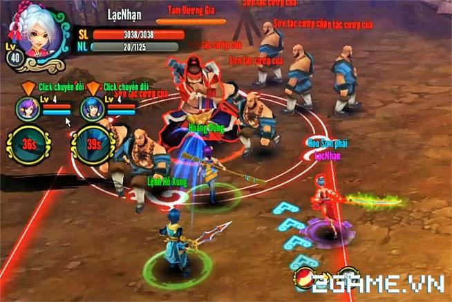 Chơi thử Kiếm Khách Truyện - Kỳ phùng địch thủ của Cửu Âm Chân Kinh Mobile 2