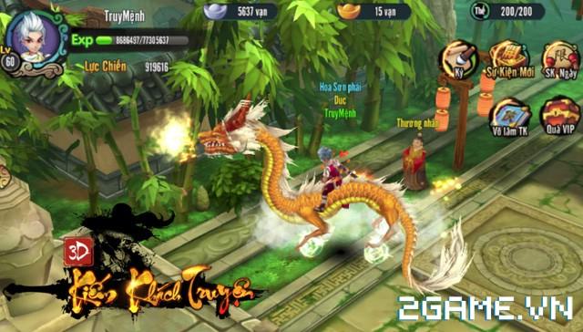 Chơi thử Kiếm Khách Truyện - Kỳ phùng địch thủ của Cửu Âm Chân Kinh Mobile 4
