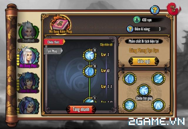 Chơi thử Kiếm Khách Truyện - Kỳ phùng địch thủ của Cửu Âm Chân Kinh Mobile 8