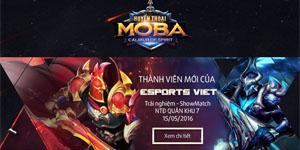 Huyền Thoại MOBA ra mắt trang chủ, khẳng định thành viên mới của eSports Việt