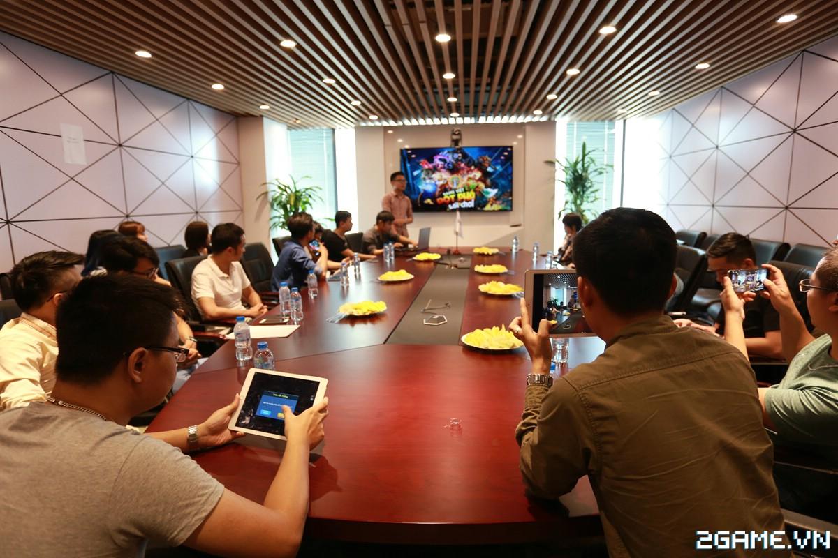 Họp báo giới thiệu Anh Hùng Đại Chiến - Game MOBA lai chiến thuật cực chất từ người Việt 6