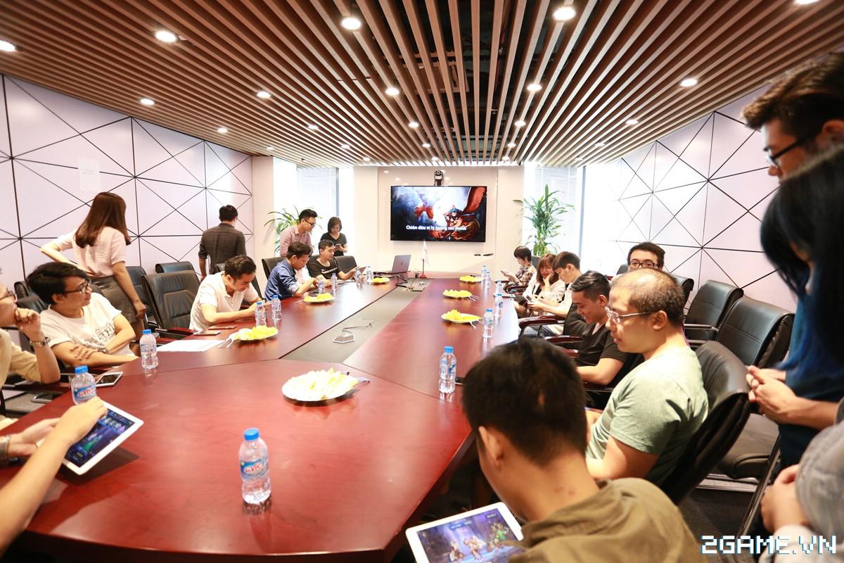 Họp báo giới thiệu Anh Hùng Đại Chiến - Game MOBA lai chiến thuật cực chất từ người Việt 12