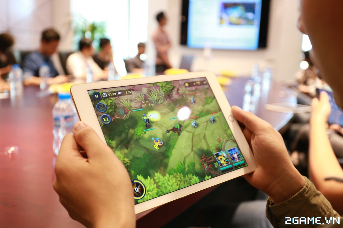 Họp báo giới thiệu Anh Hùng Đại Chiến - Game MOBA lai chiến thuật cực chất từ người Việt 3
