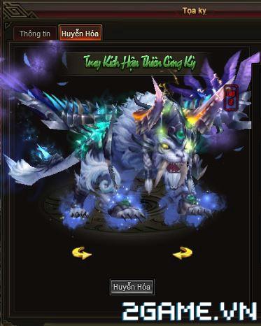 Webgame Soái Vương - Kỹ năng tọa kỵ 1