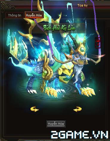 Webgame Soái Vương - Kỹ năng tọa kỵ 2