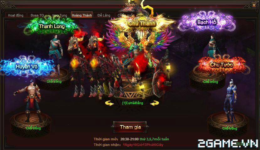 Webgame Soái Vương - Hoàng thành tranh đoạt chiến 1