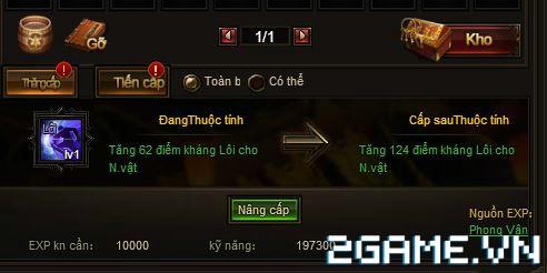 Webgame Soái Vương - Kỹ năng tướng 3