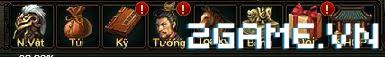 Webgame Soái Vương - Giao diện anh hùng 0