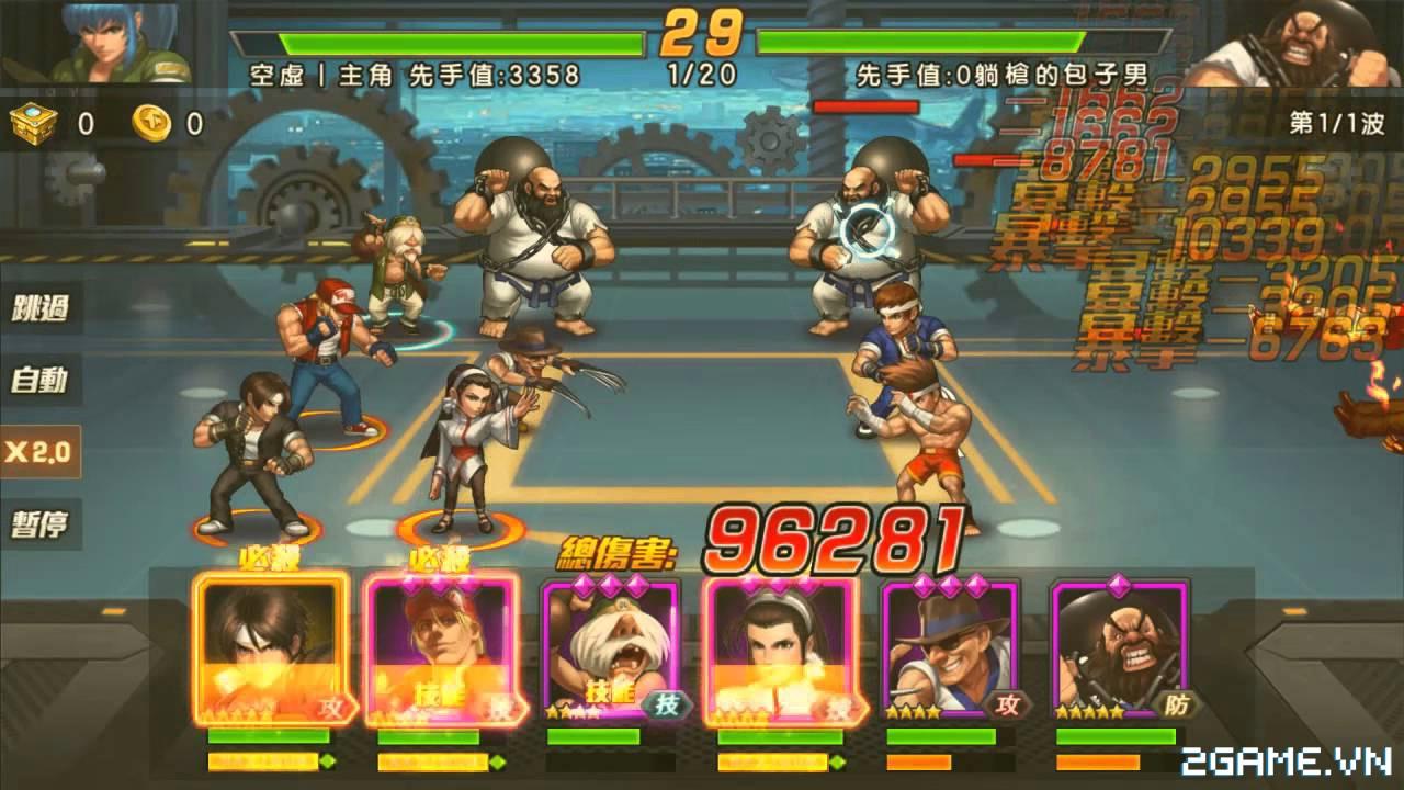 Quyền Vương 98 tái hiện tuổi thơ game thùng trên di động, lối chơi tốc đánh siêu mới mẻ 6