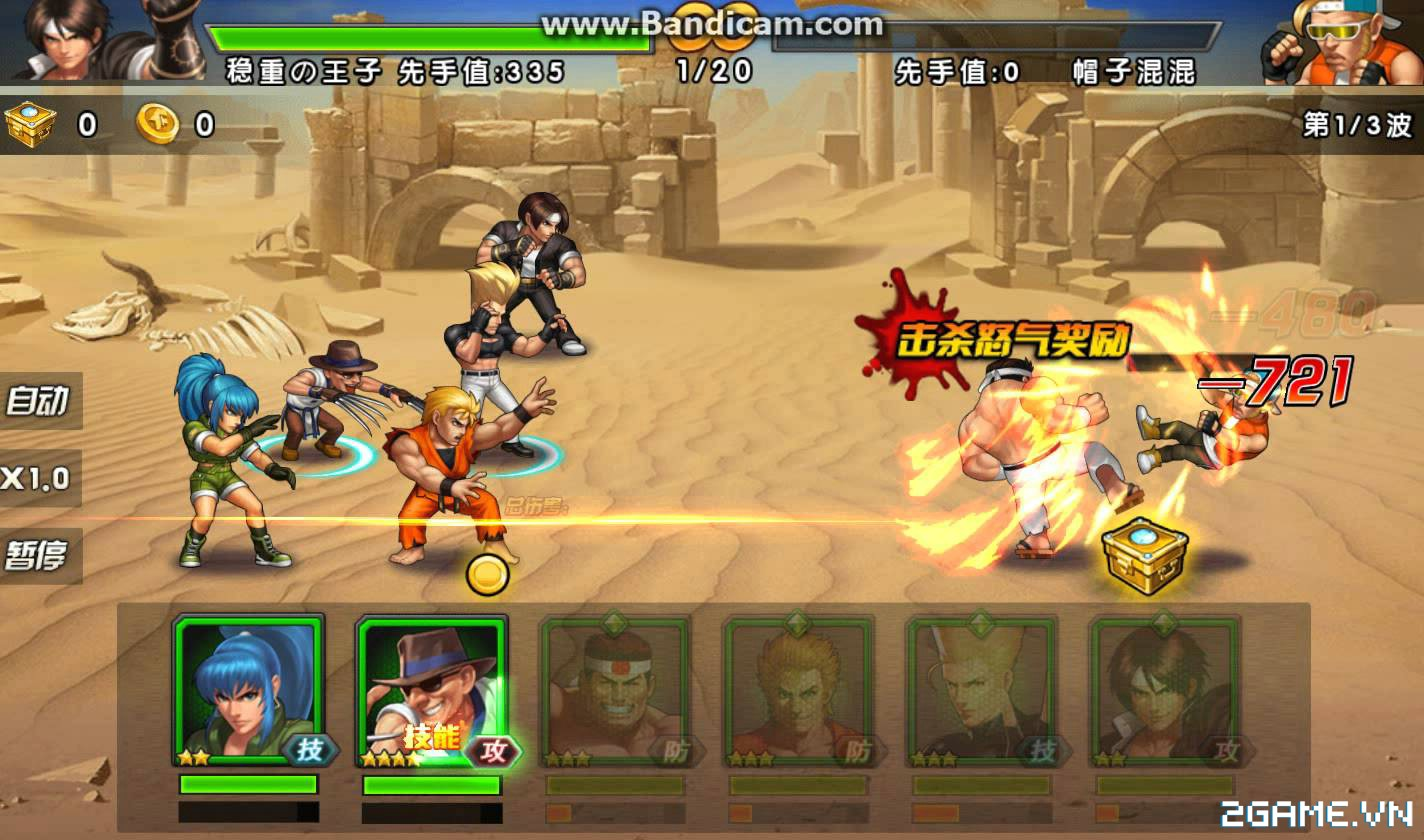 Quyền Vương 98 tái hiện tuổi thơ game thùng trên di động, lối chơi tốc đánh siêu mới mẻ 7