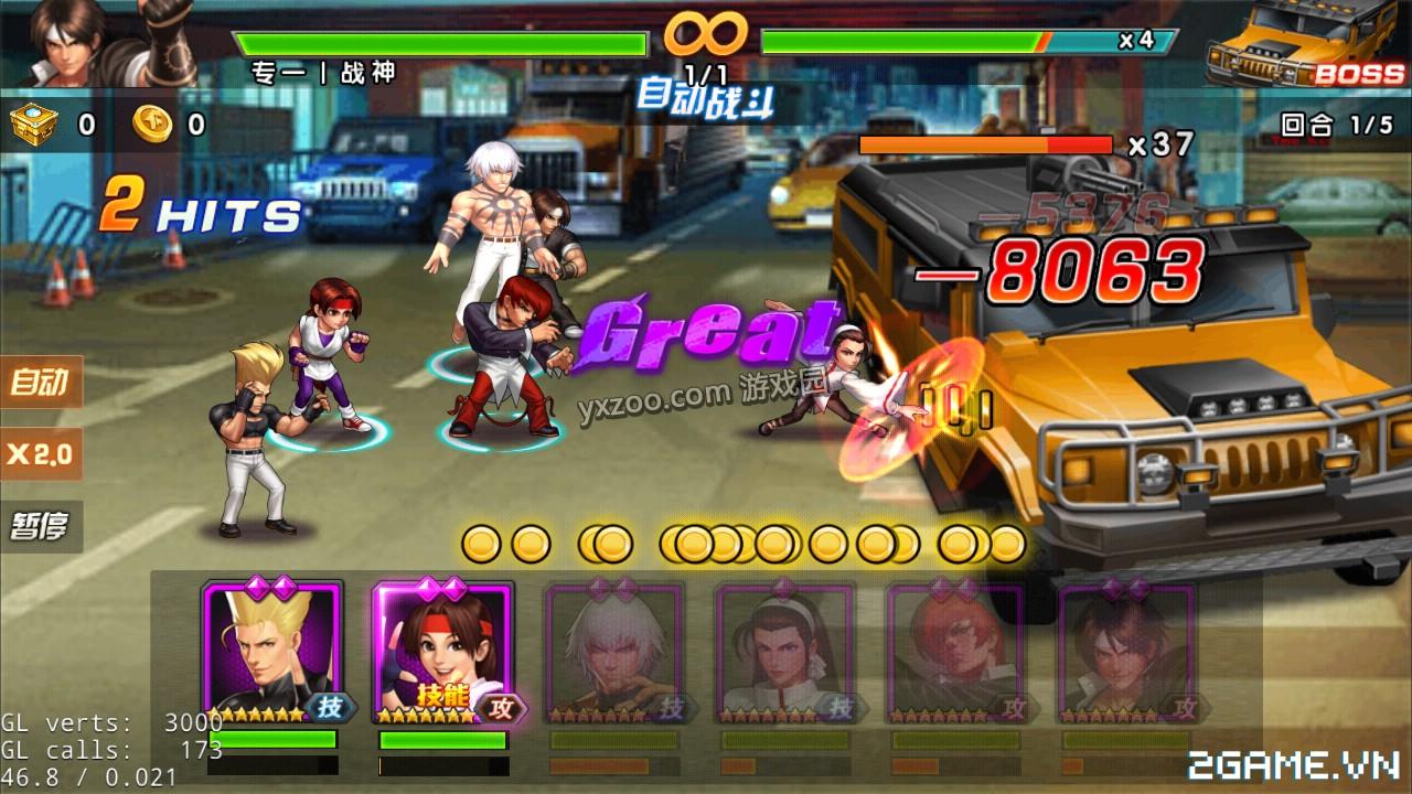 Quyền Vương 98 tái hiện tuổi thơ game thùng trên di động, lối chơi tốc đánh siêu mới mẻ 3
