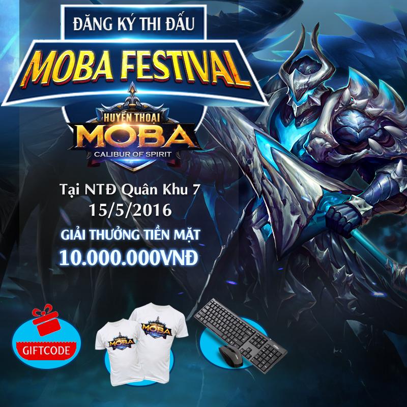 Huyền Thoại MOBA tặng tài khoản full ngọc, full tướng, full skin cho game thủ 1