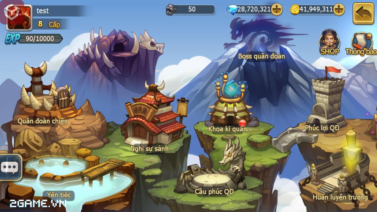 Game mobile Lữ Bố Truyện cập bến Việt Nam 2