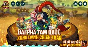 Game mobile Lữ Bố Truyện cập bến Việt Nam