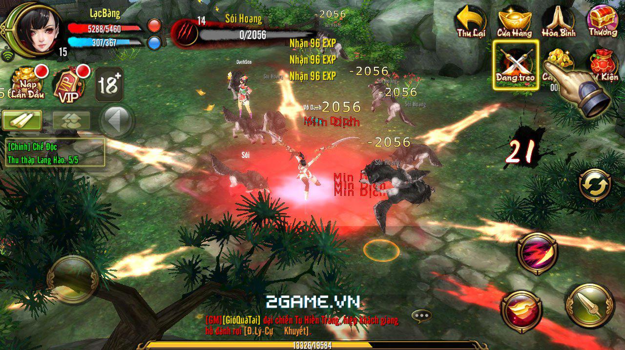 Phong Vân 3D và Thiên Long Bát Bộ 3D mobile – Game nào cũng có cái hay riêng! 6