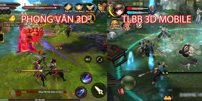 Phong Vân 3D và Thiên Long Bát Bộ 3D mobile – Game nào cũng có cái hay riêng! 8