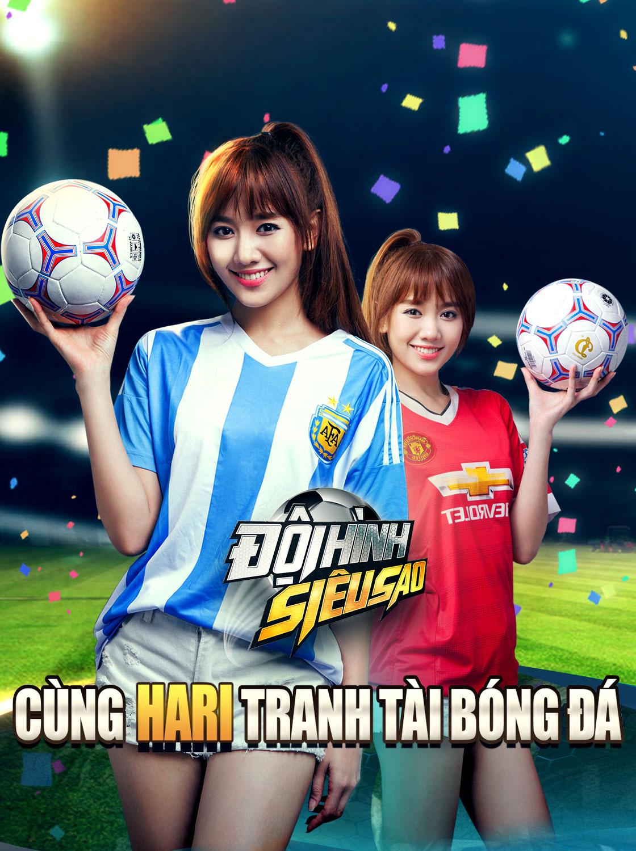 Game mobile Đội Hình Siêu Sao mời Hari Won làm đại sứ hình ảnh 1