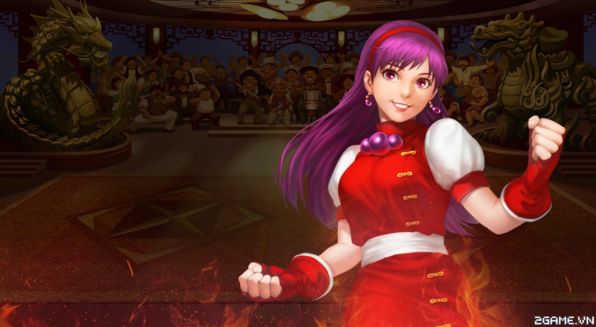 Quyền Vương 98 - Tìm hiểu tướng Athena Asamiya 0
