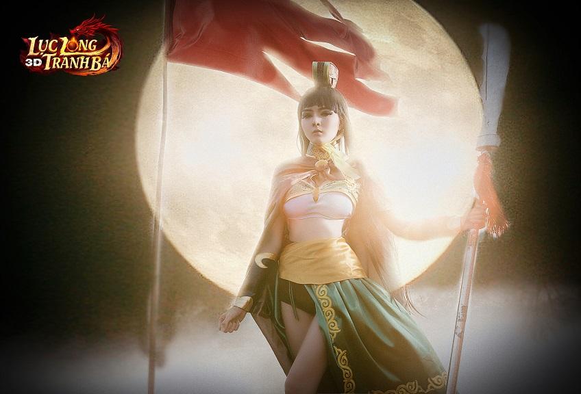 Lilly Luta tung ảnh cosplay cực chất mừng Lục Long Tranh Bá 3D ra server mới 1