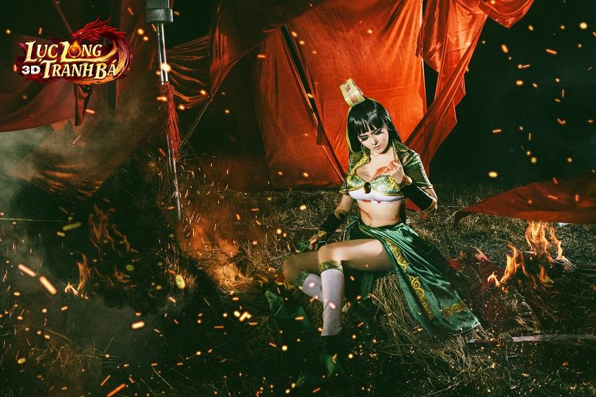 Lilly Luta tung ảnh cosplay cực chất mừng Lục Long Tranh Bá 3D ra server mới 4