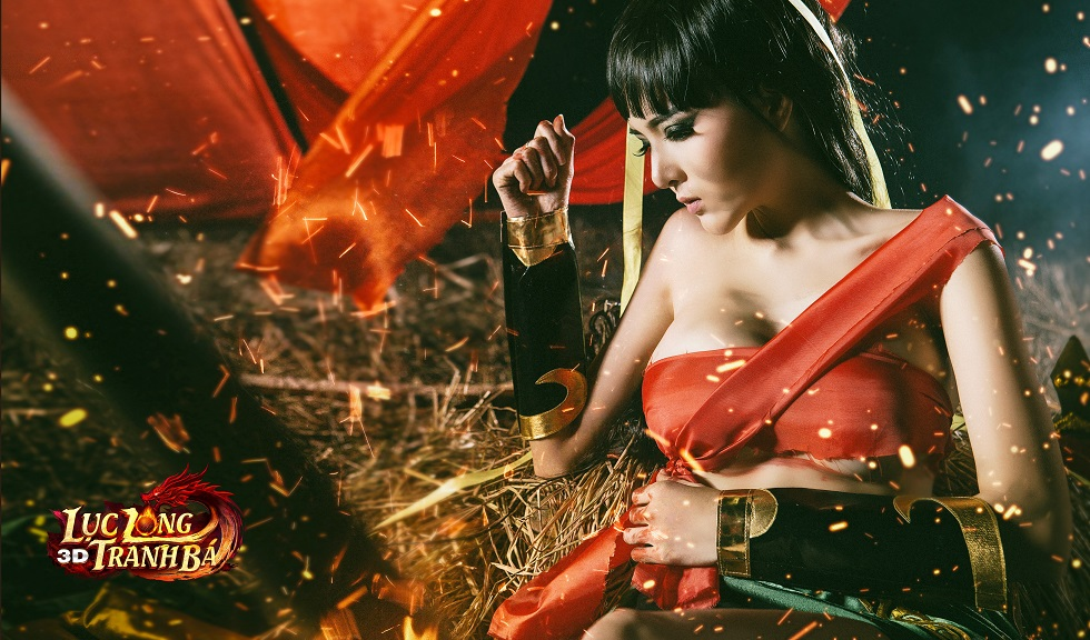 Lilly Luta tung ảnh cosplay cực chất mừng Lục Long Tranh Bá 3D ra server mới 8