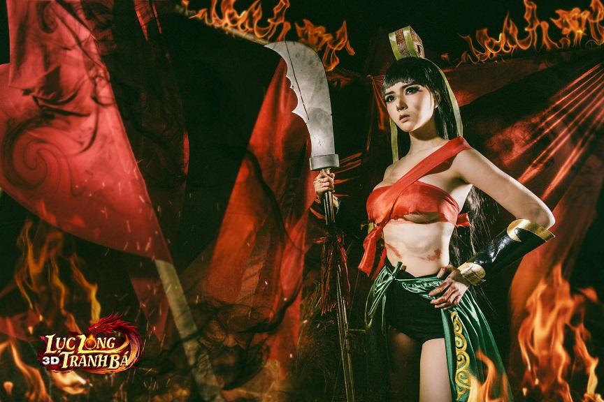 Lilly Luta tung ảnh cosplay cực chất mừng Lục Long Tranh Bá 3D ra server mới 7