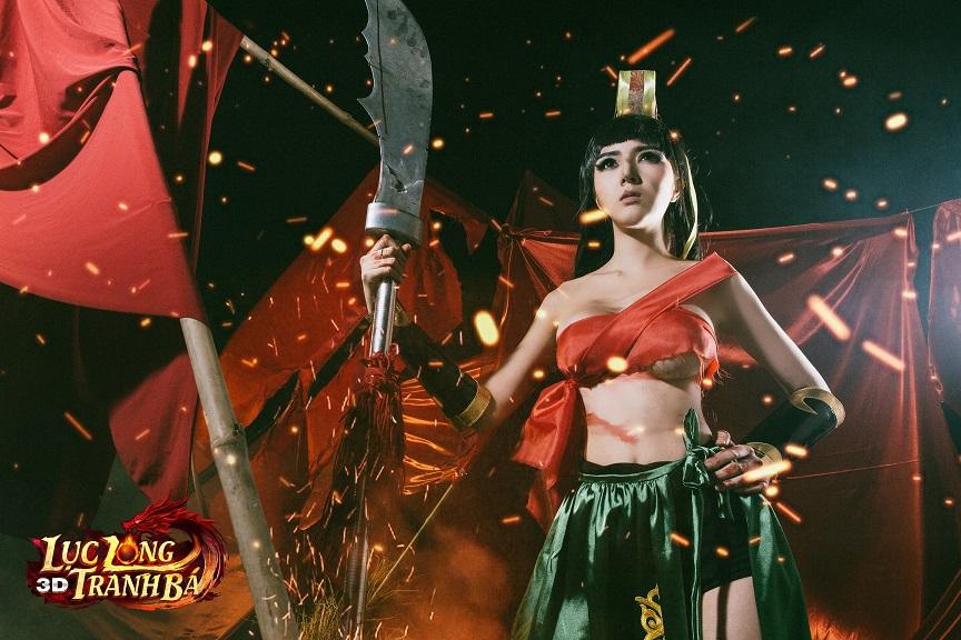 Lilly Luta tung ảnh cosplay cực chất mừng Lục Long Tranh Bá 3D ra server mới 6