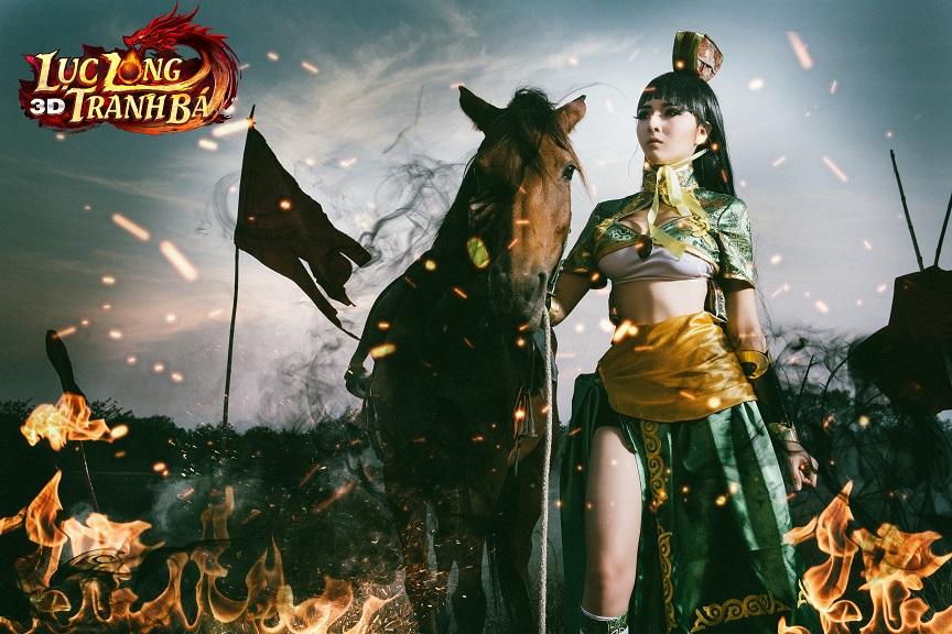 Lilly Luta tung ảnh cosplay cực chất mừng Lục Long Tranh Bá 3D ra server mới 3
