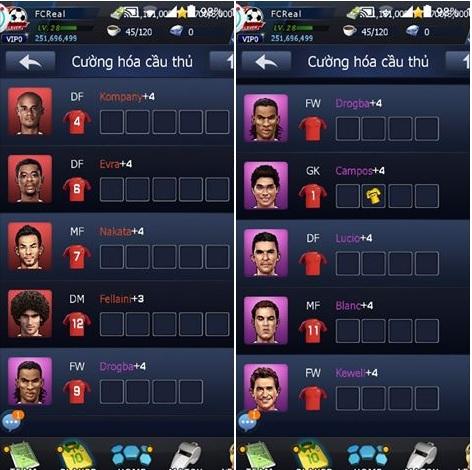 Đội Hình Siêu Sao - Hướng dẫn Tân thủ 3