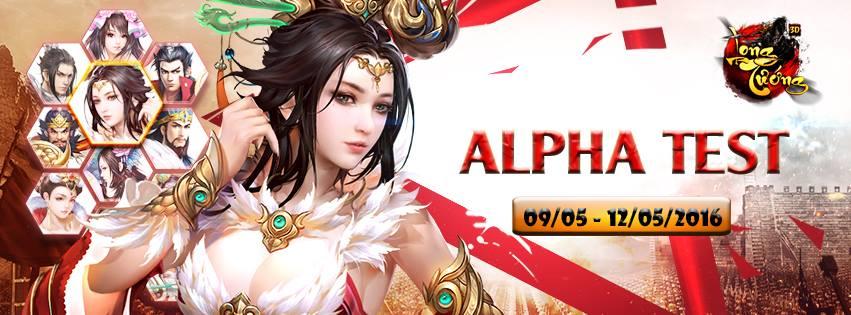Long Tướng 3D chính thức Alpha Test ngày hôm nay 9/5 0