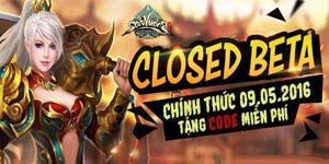 Tặng 335 giftcode game Soái Vương bản closed beta