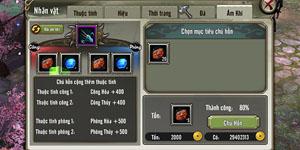 Thiên Long Bát Bộ Mobile – Bí kíp giúp game thủ tăng lực chiến với Ám Khí