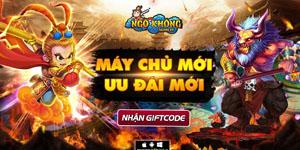 Tặng 310 giftcode game Ngộ Không Truyền Kỳ
