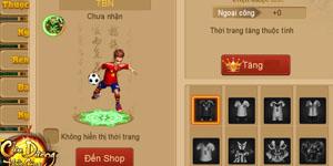 Cửu Dương Thần Công – Tựa game kiếm hiệp được thấy cả cầu thủ bóng đá