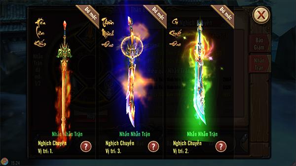 Phong Vân 3D - Tăng mạnh lực chiến bằng nhẫn trận thần binh 0