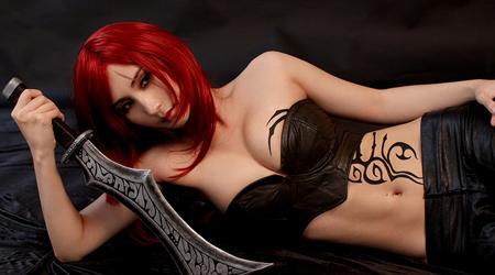 Bộ ảnh Cosplay Katarina đậm chất sát thủ vô lạnh như băng