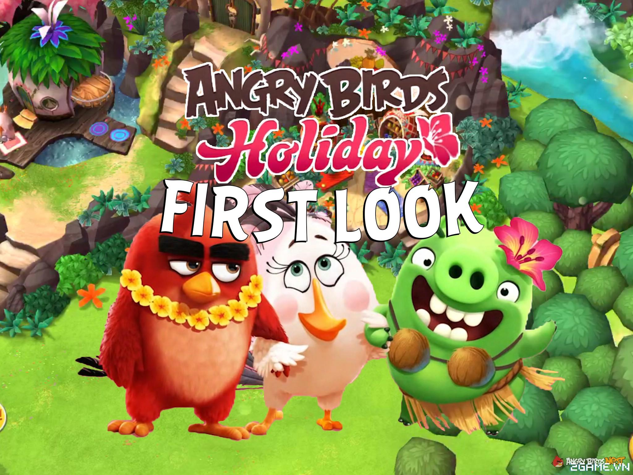 Angry Birds Holiday - Sự đổ bộ thú vị của huyền thoại Angry Birds trong giới game toàn cầu 0