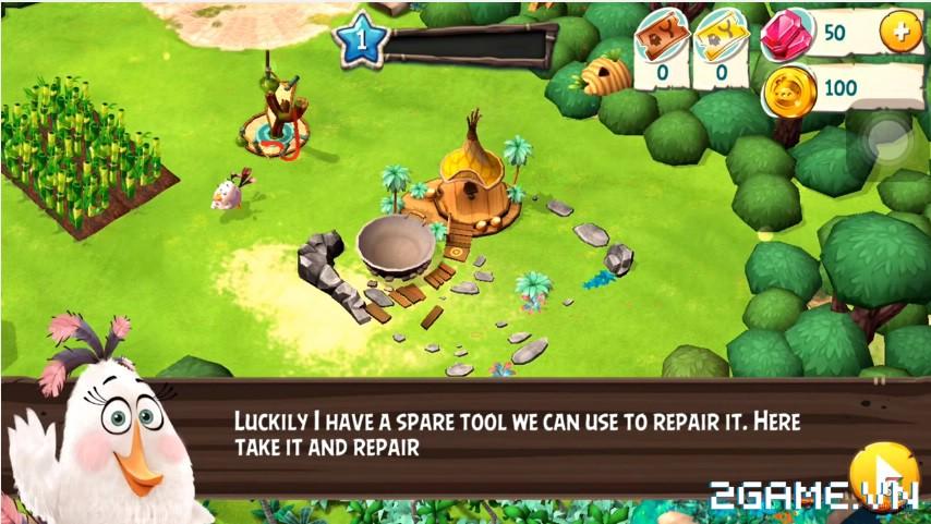 Angry Birds Holiday - Sự đổ bộ thú vị của huyền thoại Angry Birds trong giới game toàn cầu 1