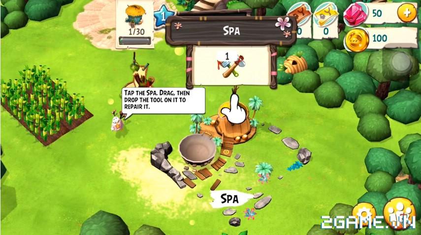 Angry Birds Holiday - Sự đổ bộ thú vị của huyền thoại Angry Birds trong giới game toàn cầu 2