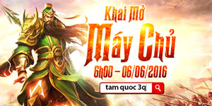 Tặng 115 giftcode game Tam Quốc 3Q