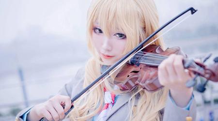 Cosplay Kaori trong Shigatsu wa Kimi no Uso xinh quá mức quy định