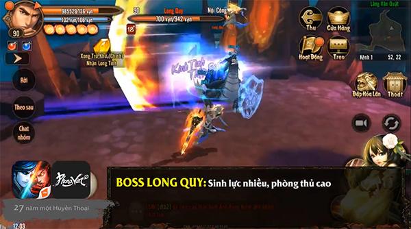 Phong Vân 3D - Chiến thuật đánh boss Lăng Vân Quật cấp thường 2