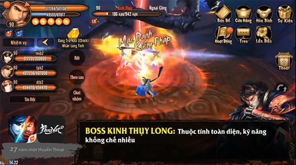 Phong Vân 3D - Chiến thuật đánh boss Lăng Vân Quật cấp thường 3