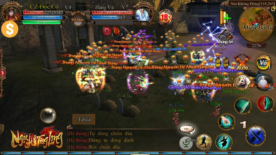 Tặng 110 giftcode game Ngoạ Hổ Tàng Long Mobile 0
