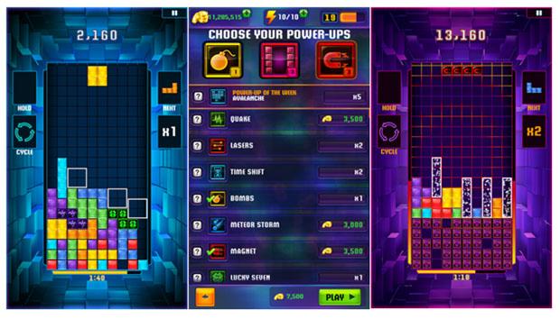 Tetris Blitz - Sự cải tiến bắt mắt, đặc sắc của thể loại xếp hình kinh điển 0